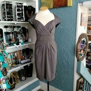 Gray Evan Picone Dress